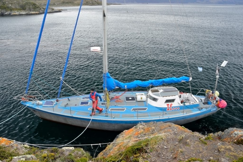 Canale di Beagle sosta all'Isola H