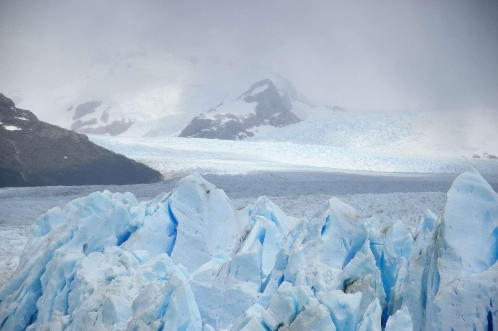 il Perito Moreno dall'alto