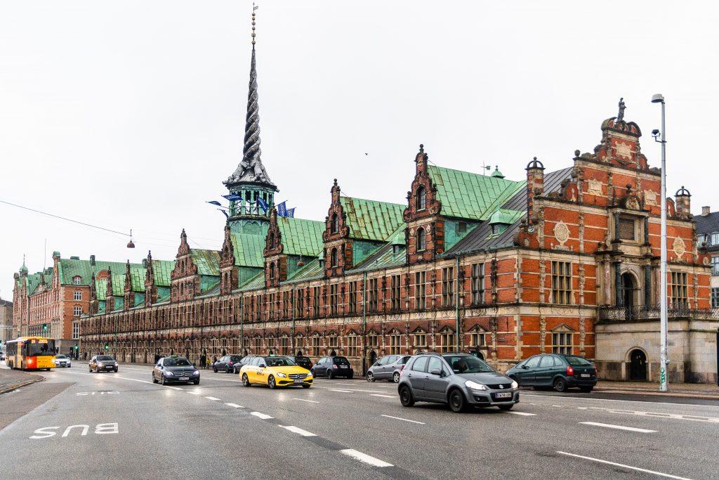 palazzo della Borsa a Copenaghen