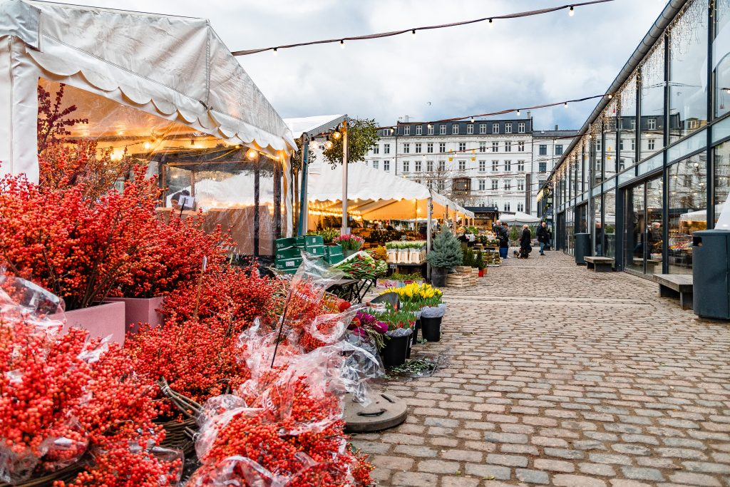 Il mercato di Torvehallerne dove trovare specialità locali
