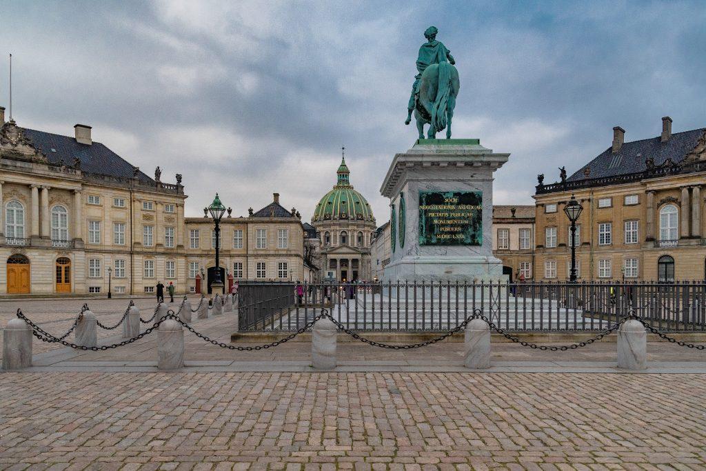 Amalienborg Slot, la residenza reale danese