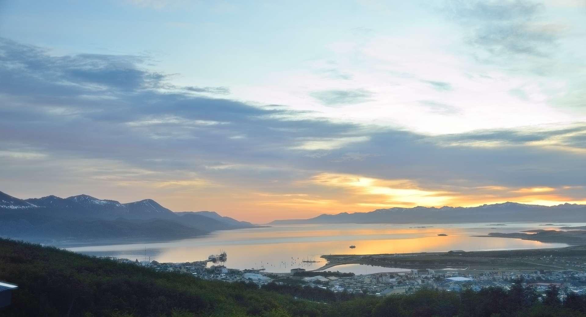alba ad Ushuaia