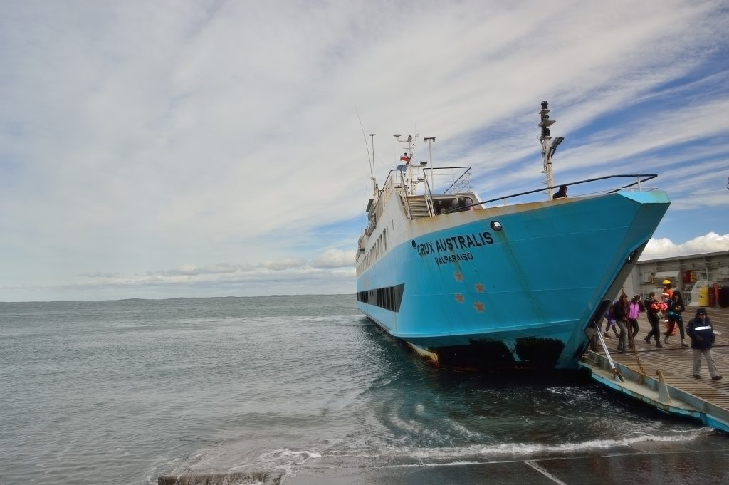 traghetto per lo Stretto di Magellano