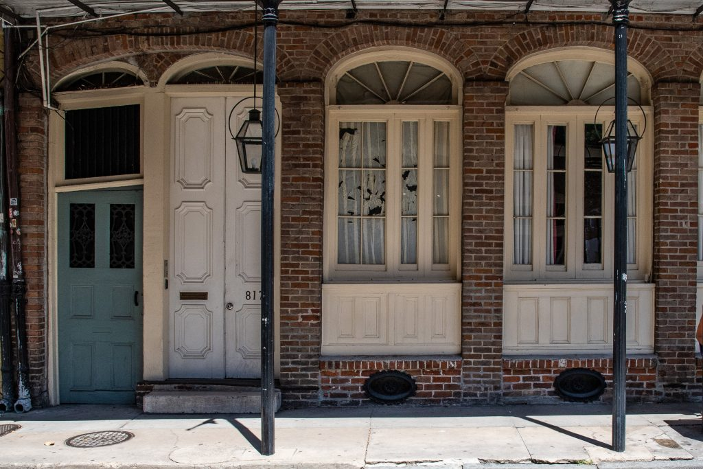 edifici del French Quarter di New Orleans