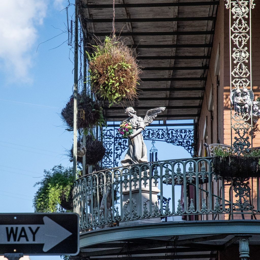 balconate di New Orleans