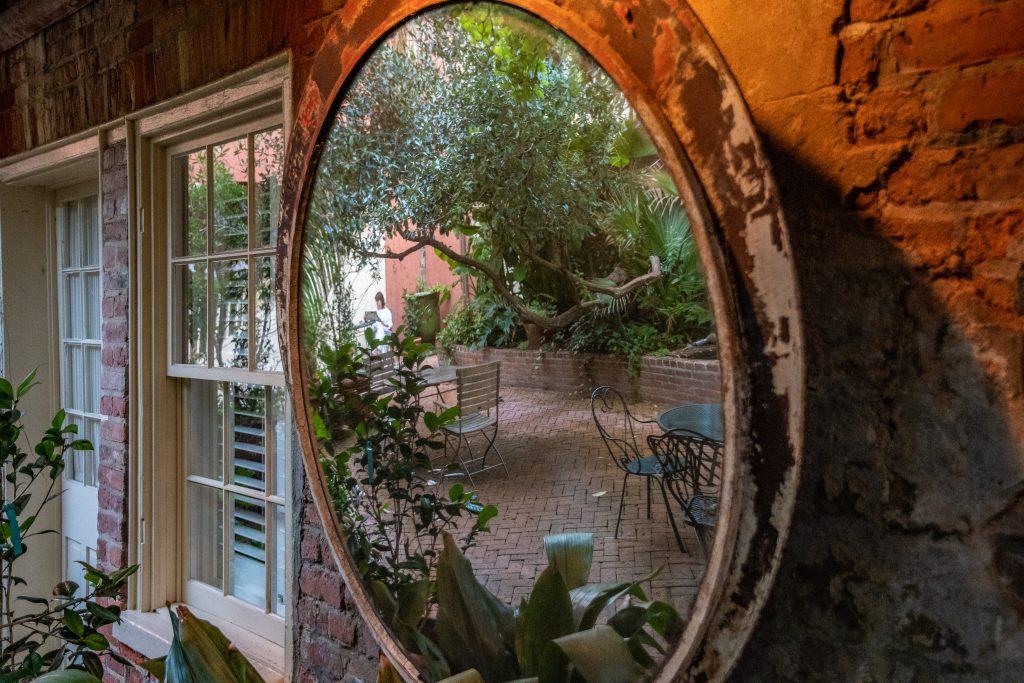 il giardino del Soniat House