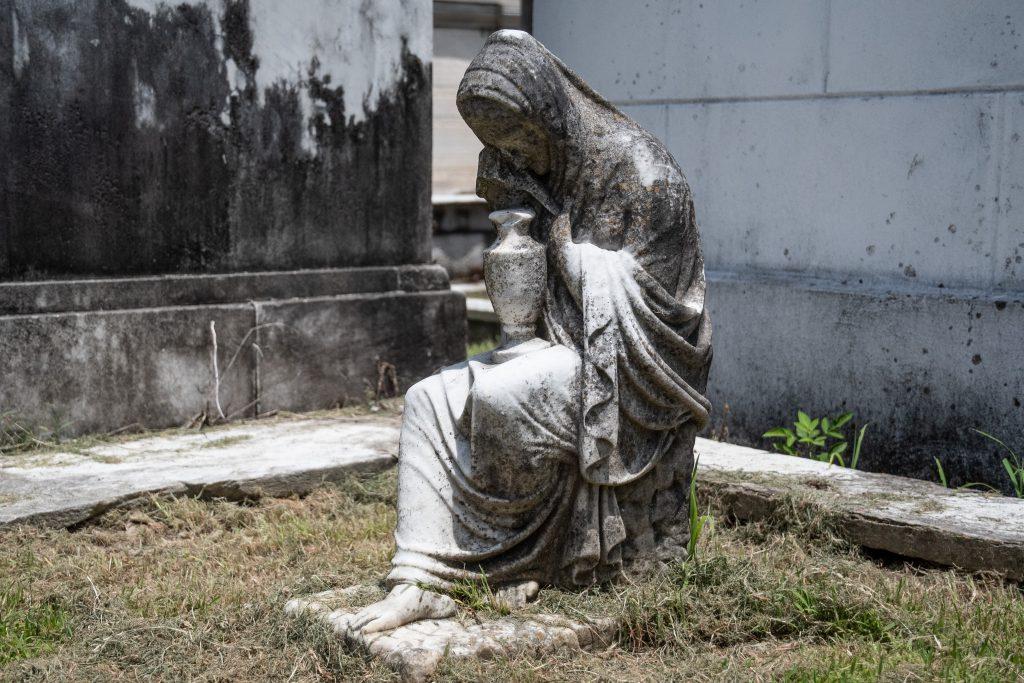 monumento funebre al Lafayette Cemetery No 1