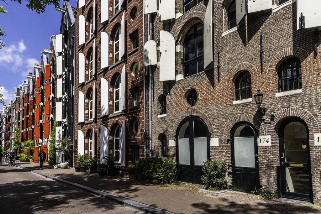 Woman in Amsterdam