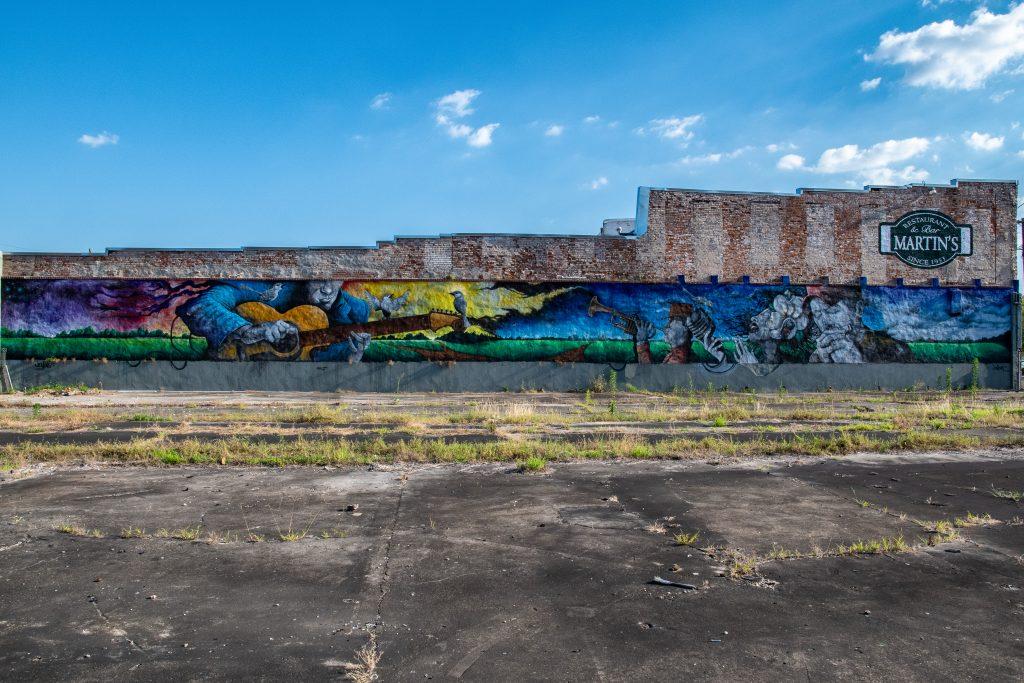 gigantesco murale a Jackson