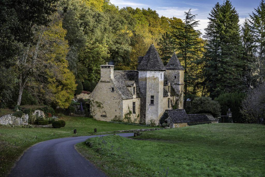 il castello di Saint Genies