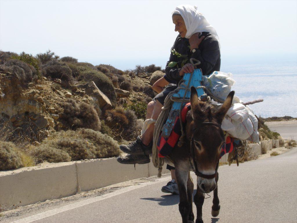 Isole greche, ci si sposta ancora con l'asino