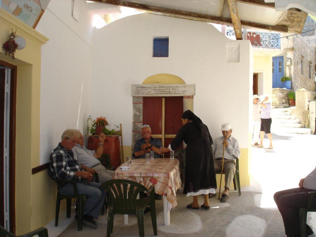 cosa mi manca delle isole greche, le case imbiancate delle chora