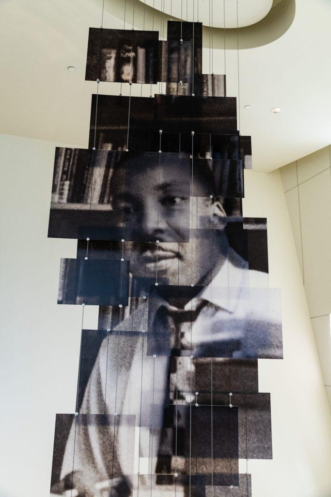 l'interno del Museo per i Diritti Civili di Atlanta