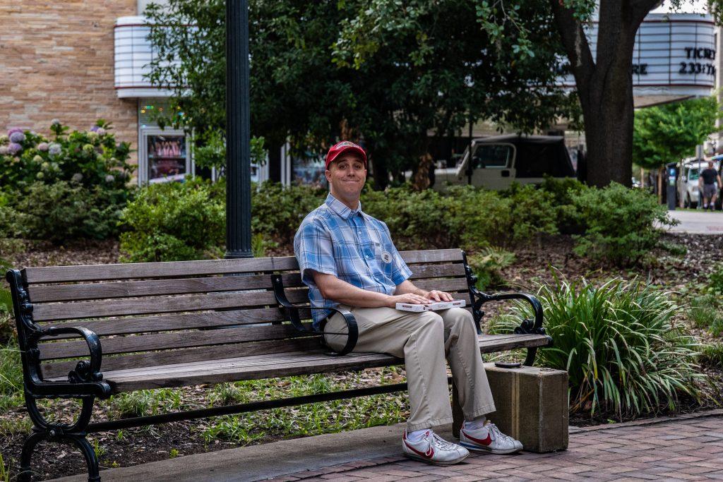 la panchina di Forrest Gump a Savannah