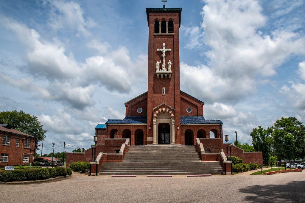 la chiesa di St. Jude tra Selma e Montgomery presso cui fecero tappa i manifestanti durante i quattro giorni in cui durò la marcia