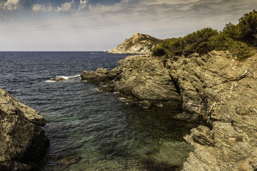 il mare trasparente dell'isola di Gaou