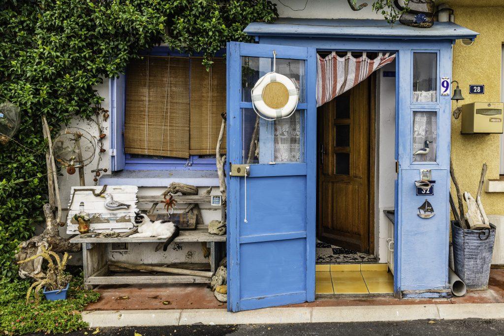 case di marinai alla Pointe Courte di Sète
