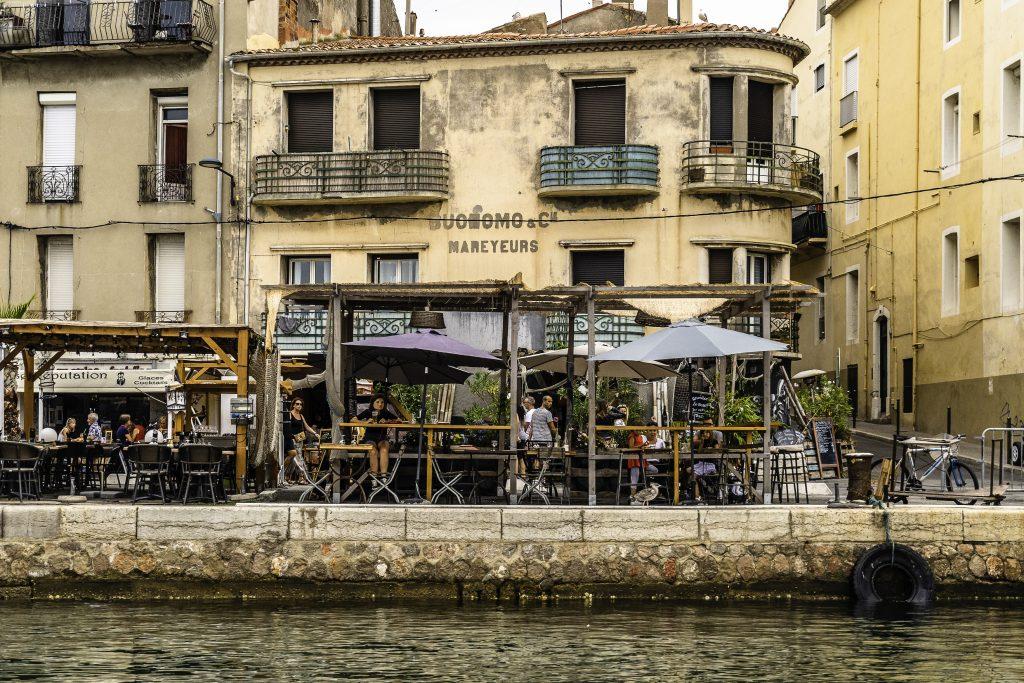 lungo il canale di Sète