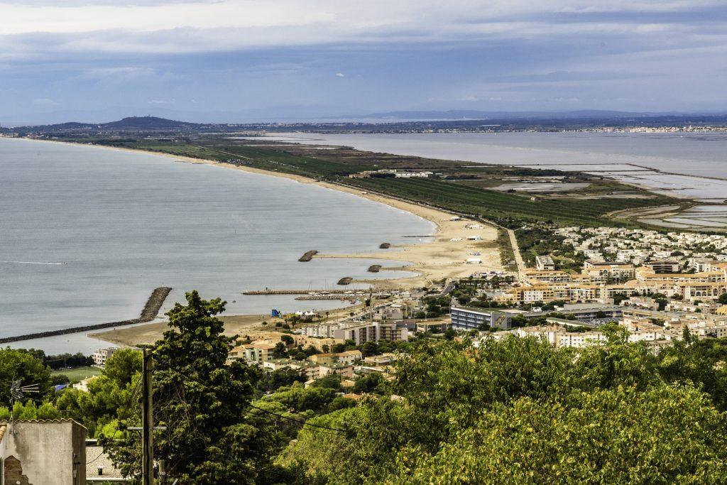 vista di Sète dal Mont Saint-Clair