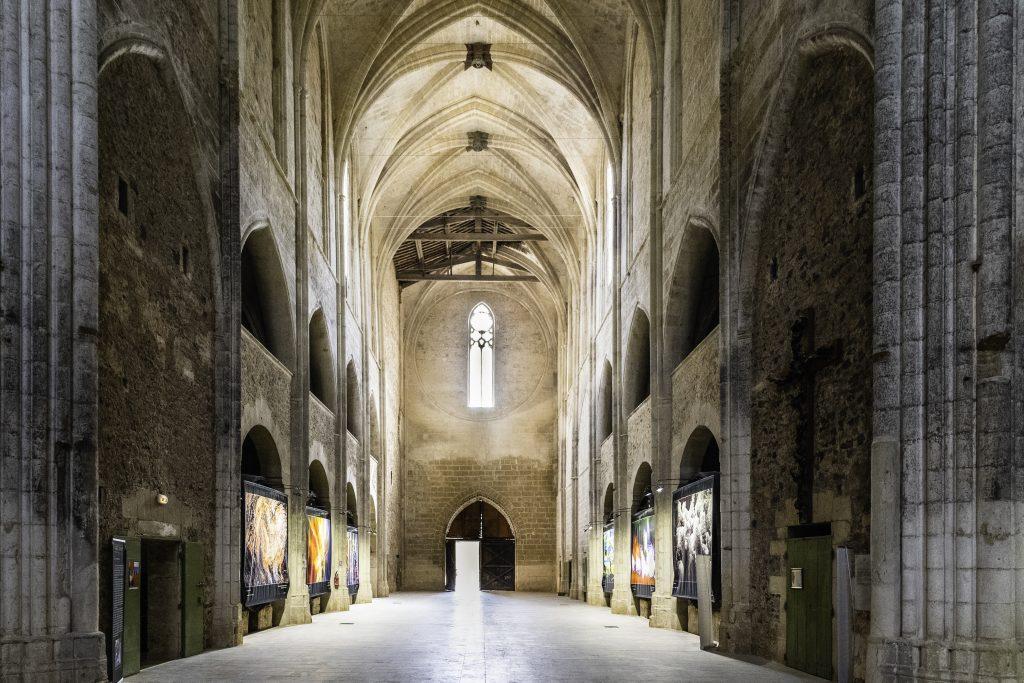L'interno dell'Abbazia di Valmagne