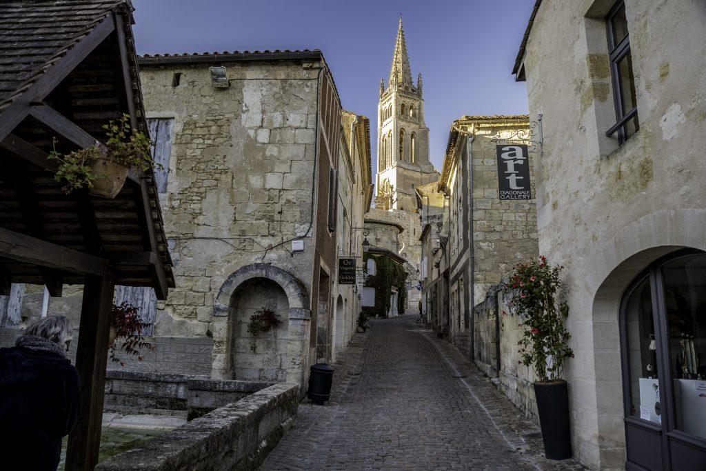 il borgo medieveale di Saint Emilion
