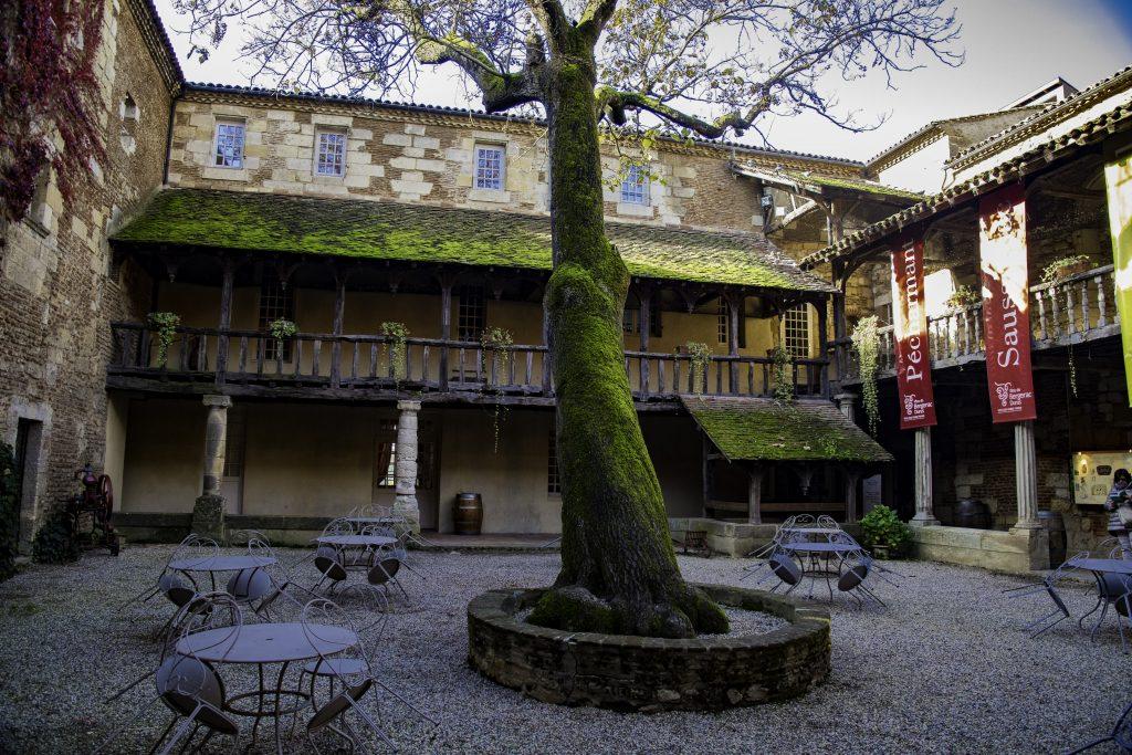 un angolo nel centro della cittadina di Bergerac