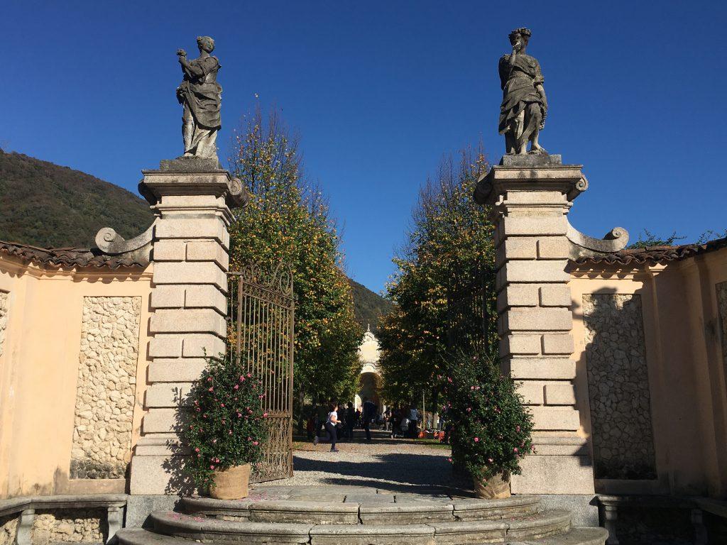 l'entrata del giardino segreto