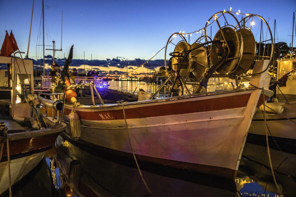 ancora oggi le pointus tipiche provenzali, vengono utilizzate per la pesca