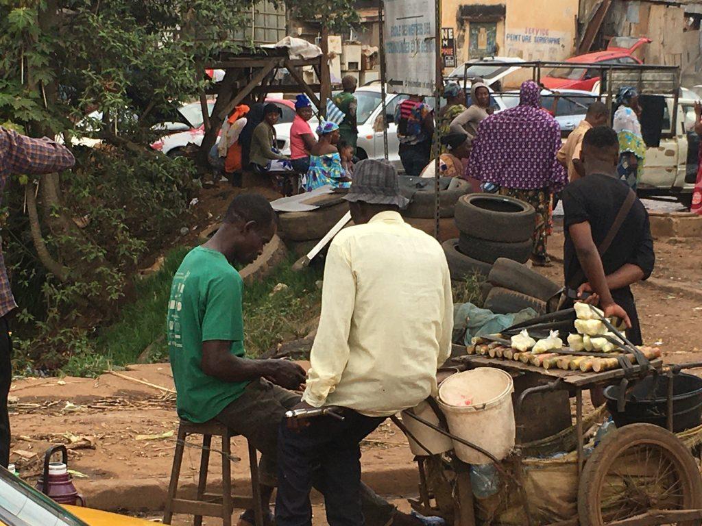 Yaundé, capitale del Cameroun è caotica, e disordinata