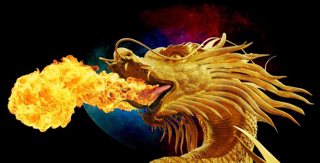 il drago Tarantasio mitico abitante del lago geerundo