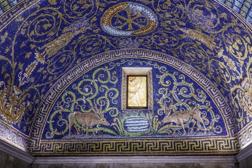 i mosaici di Ravenna: Mausoleo di Galla Placidia