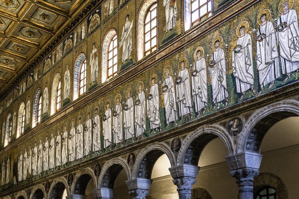 I mosaici di Ravenna sono il più antico ciclo del Nuovo Testamento