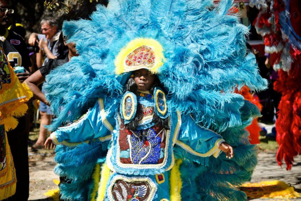 parata degli Indians a New Orleans